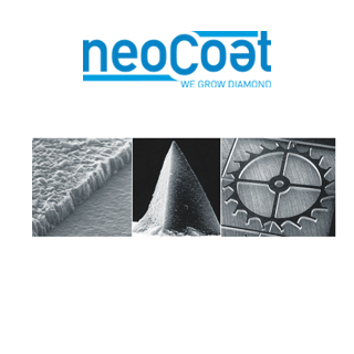NeoCoat hot filament CVD diamond SEMs